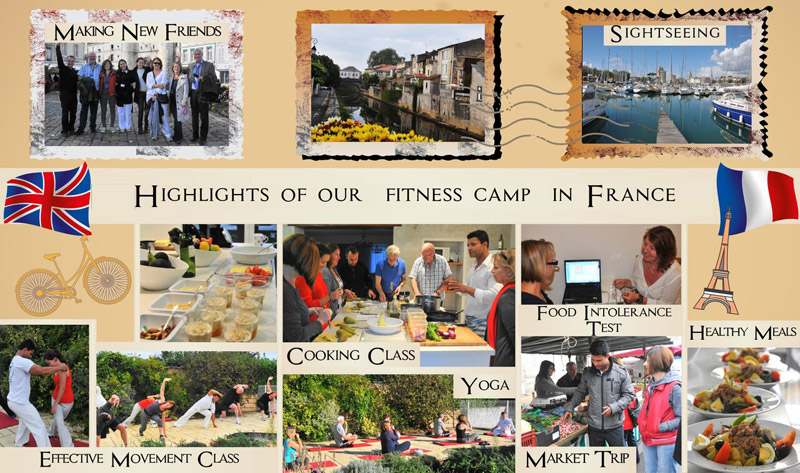 France Fitness Retreat