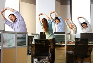 getty_rf_photo_of_office_workers_stretching