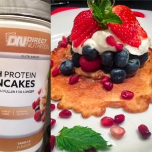 High  Protein vanilla  pancake